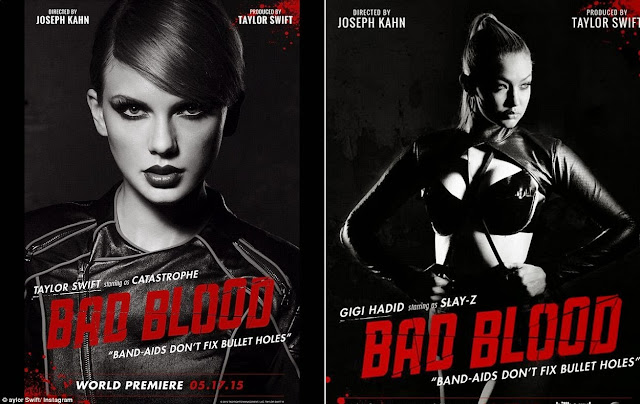 Taylor Swift set to release star studded music video for 'Bad Blood'
