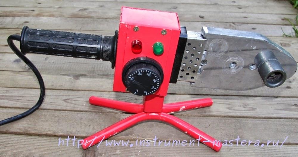 Электропаяльник для сварки пластиковых труб