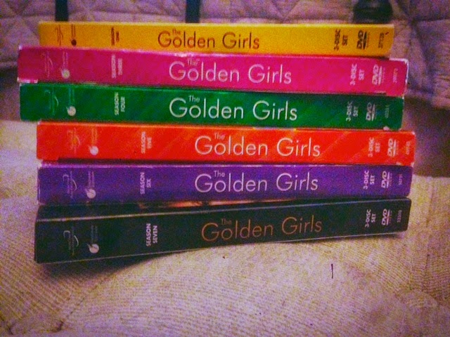 Golden Girls dvds, Golden Girls on dvd collection, thank you for being a friend, Blanche and Rose, Sophia Petrillo, original Sex and the City