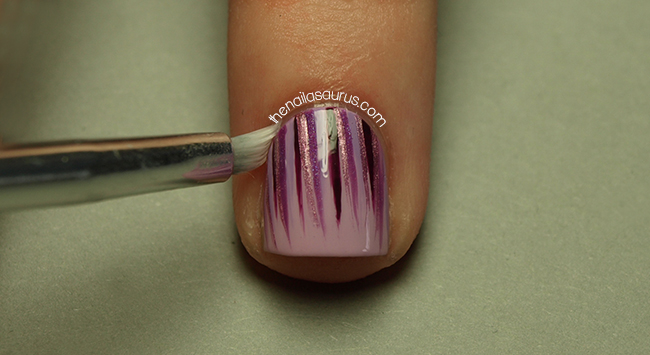 Waterfall Nail Art Tutorial