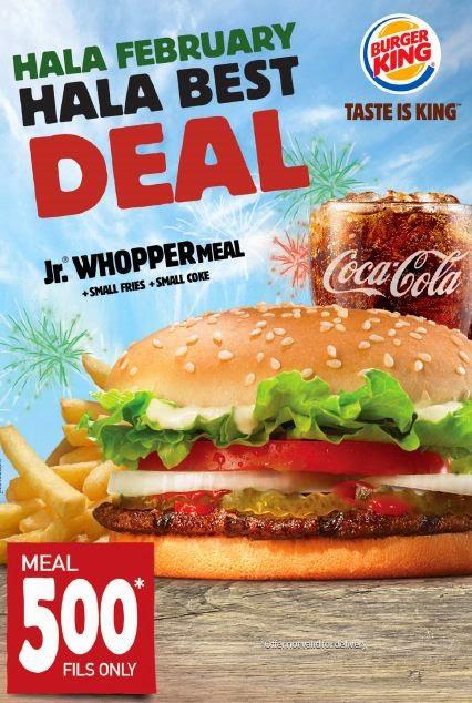 Burger King Deals 2014 Burger King Hala Deal
