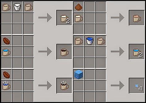Mo' Drink Mod Craftings