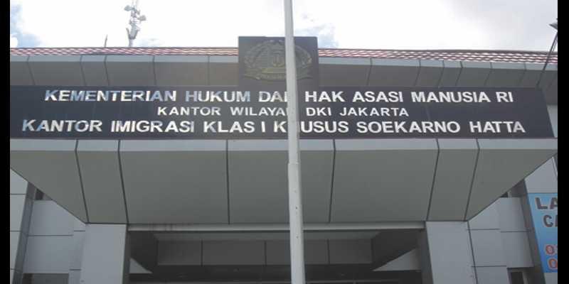 Peta Lokasi Kantor Imigrasi Bandara Soekarno Hatta