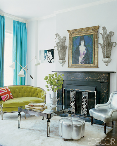 Old Hollywood Themed Living Room: Lush Fab Glam Blogazine: A Sneak Peek Inside The Homes Of