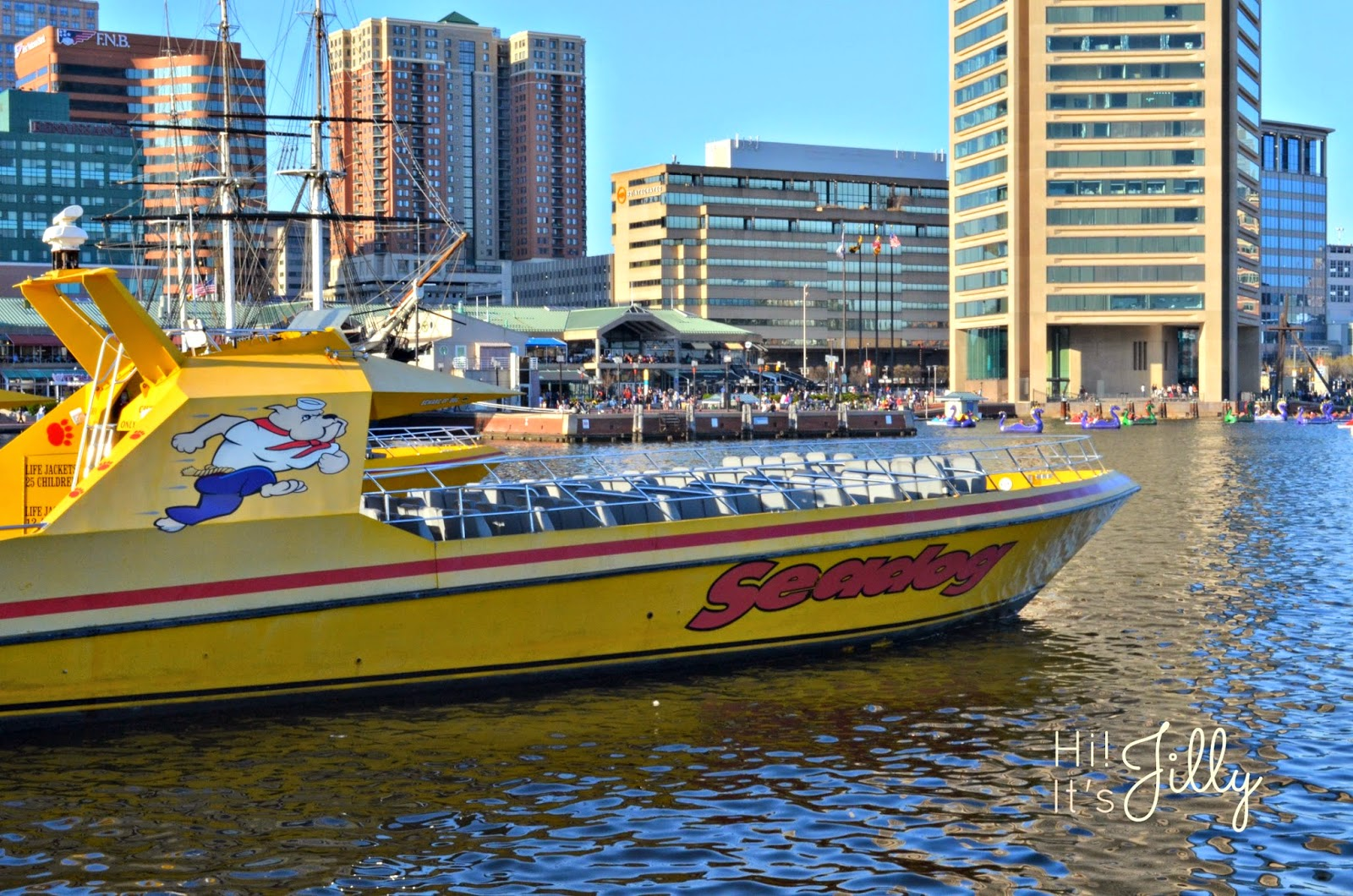A SeaDog Cruise is the perfect fun family activity! #vacation #baltimore #cruise #innerharbor