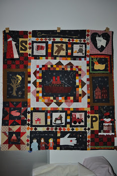 Sinterklaas quilt