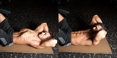 تمرينات عضلات البطن