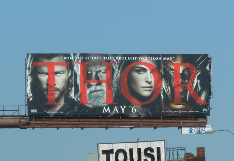 Thor film billboard