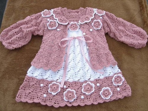 Kids Crochet Dress - Free Diagrams