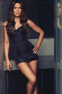 Kate Beckinsale Men's Style Covershoot