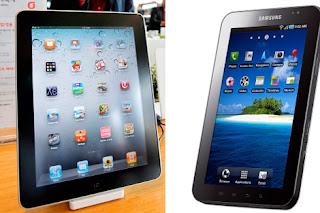 La tableta de Samsung fuera de Alemania