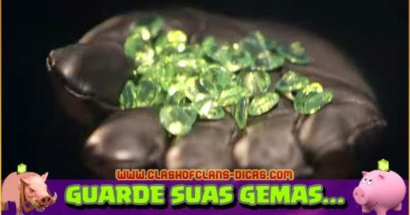 Guarde suas Gemas - Clash of Clans Dicas, Gemas Grátis, Tutoriais e ...
