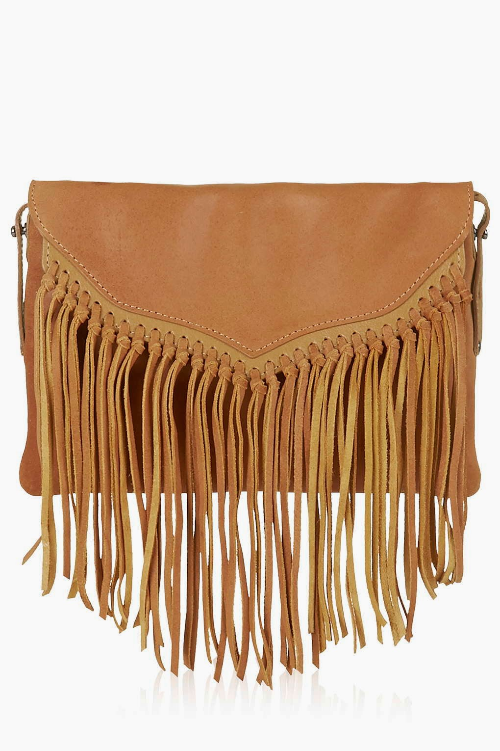 topshop tan tassel bag, tan tassel handbag, small fringed handbag, tan fringed topshop bag,