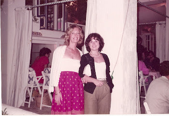 Mom and I @ Cafe del Mar 1982
