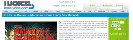 Ibiza Voice, reviews