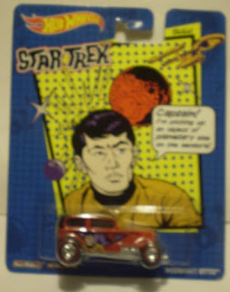 Front of Hot Wheels Star Trek: Sulu