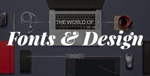 Fonto - Typography Portfolio WooCommerce Theme