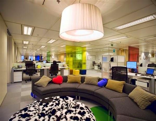 Diseño oficinas google