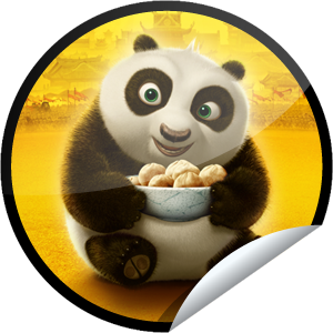 Kung Fu Panda 2 - Baby Po stickerKung Fu Panda 2 Baby Po
