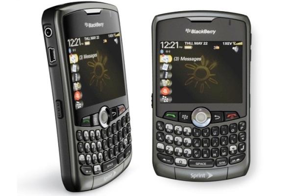 Blackberry Curve 8330 CDMA