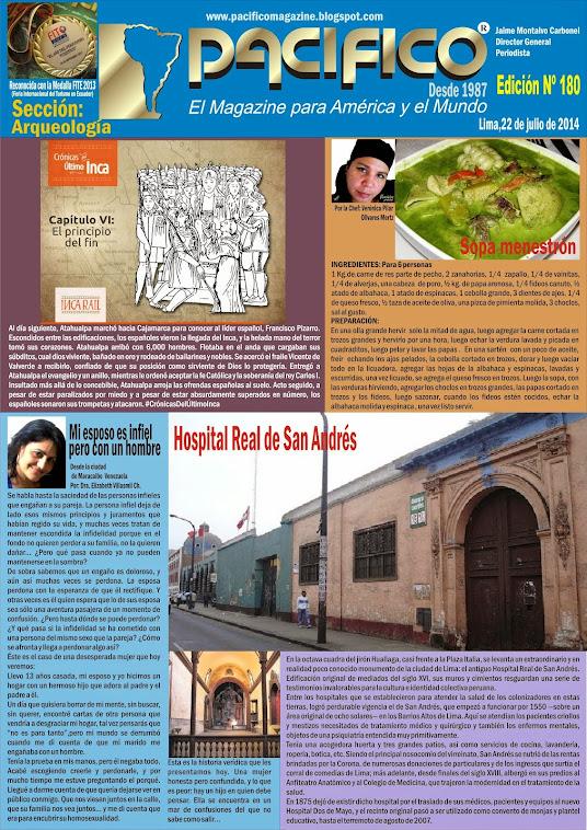 Revista Pacífico Nº 180 Arqueología
