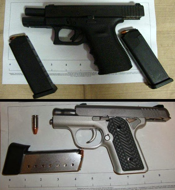 Firearms found in carry-on bags at Houston (IAH)