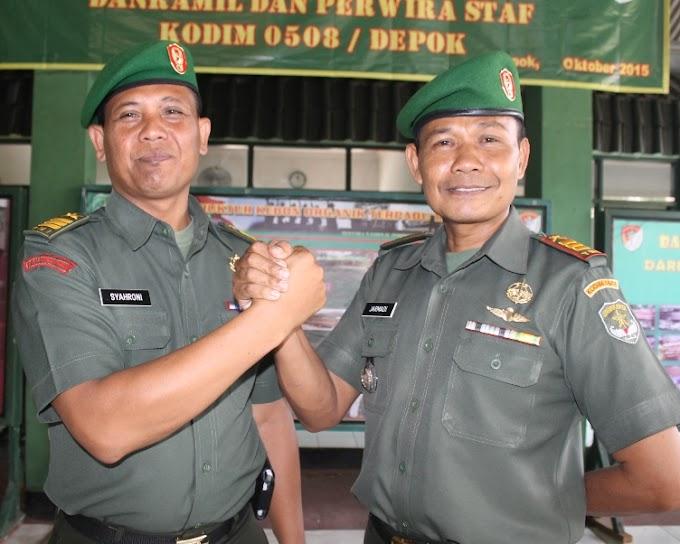 Jabatan Danramil 04/Bojonggede Diserahterimakan