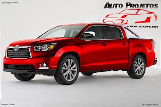 Auto Projetos: Toyota Hilux 2015 - 2015 Toyota Vigo