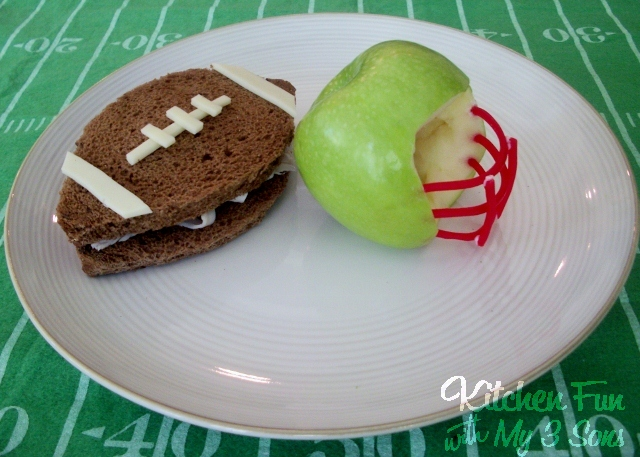 We made this football lunch now that the season has kicked off. NFL ...