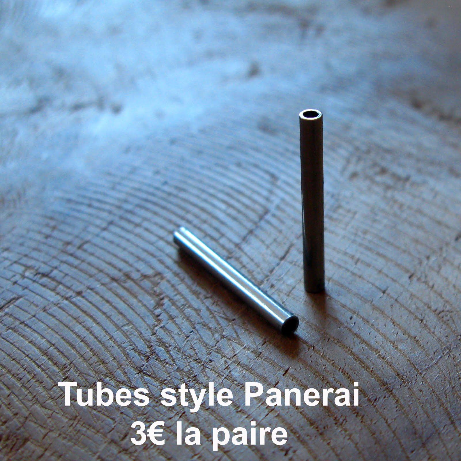 Tubes style Panerai (disponibles en 24 et en 26)