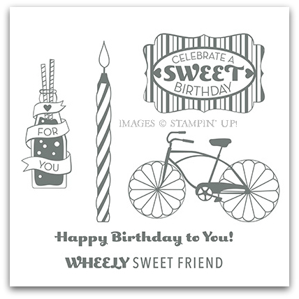 Cycle Celebration Stamp Brush Set - Stampin' Up! Digital Download
