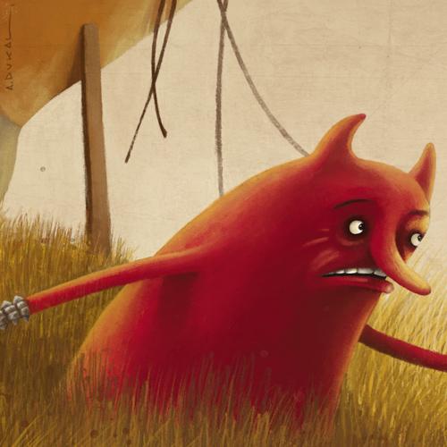 Alex Dukal - Red Demon Detail 1