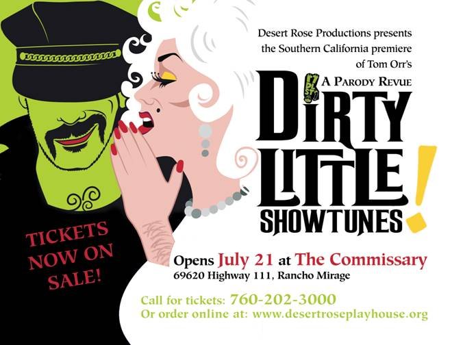 July 21 - Dirty Little Show Tunes