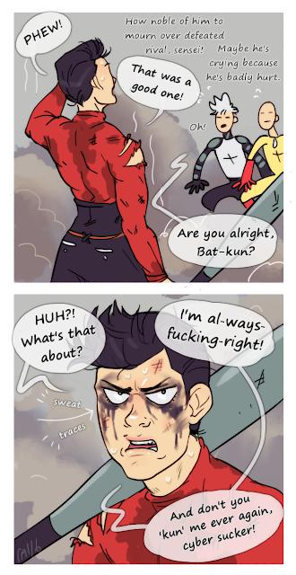 metal bat onepunch man