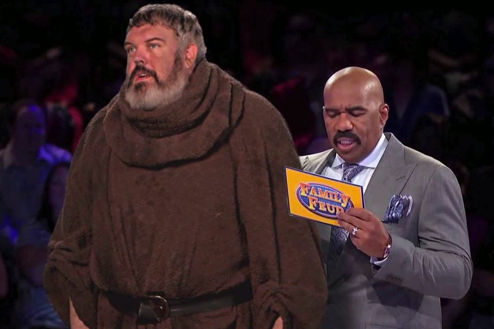 Hodor from Game of Thrones on Family Feud