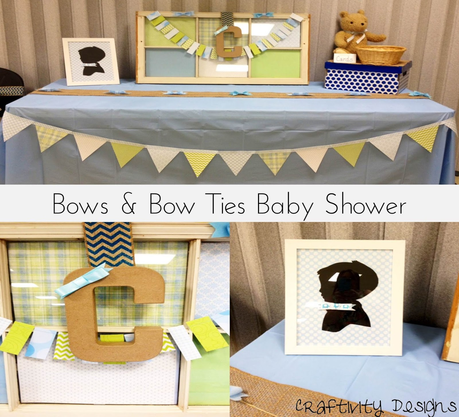 craftivity designs bows bow ties shower the decorations