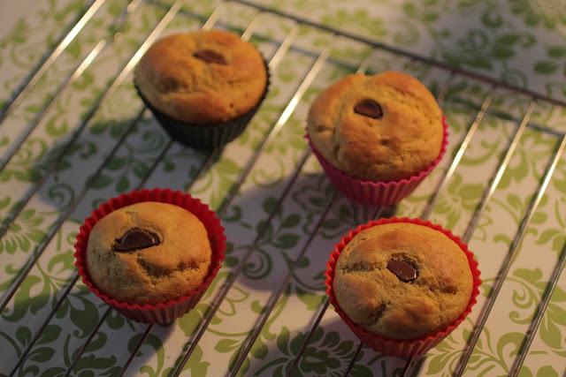 Muffins sucrés à la courge butternut