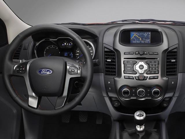 novo Ford Ranger 2014 interior