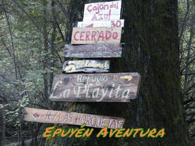 Refugio La Horqueta - Comarca Andina - El Bolsón - Epuyén Aventura Guia