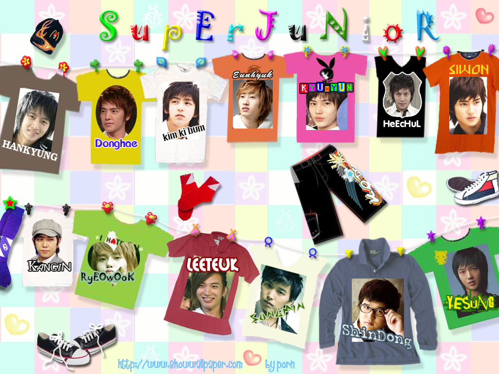 Free Wallpaper: Super Junior Wallpaper