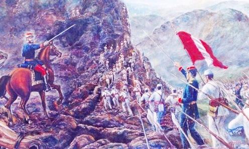 Imagen de la Batalla de Tarapacá