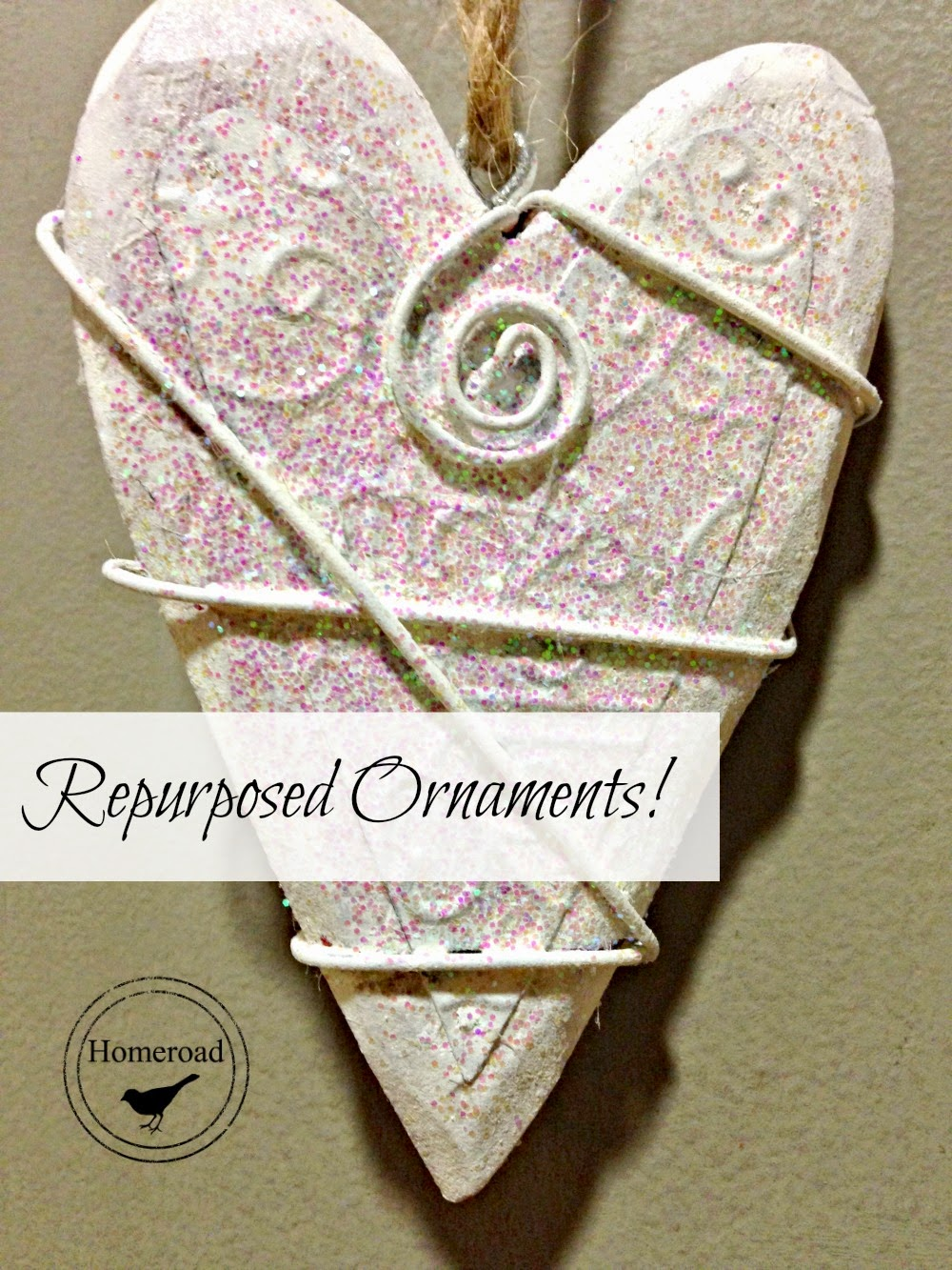 Repurposed Christmas Ornaments Homeroad