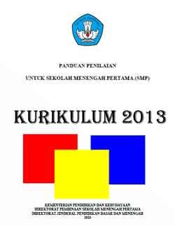 link download mudah buku panduan penilaian kurikulum 2013 untuk SMP edisi revisi terbaru Desember 2015