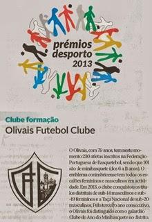 OFC Clube de Formação 2013