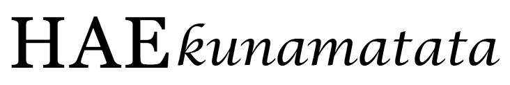 HAEKUNAMATATA
