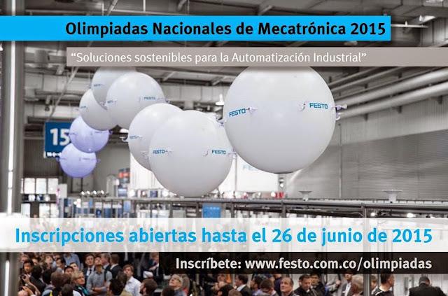 Olimpiadas Nacionales de Mecatrónica 2015