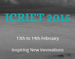 ICRIET International Conference