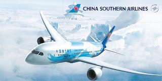 Máy bay B787 của hãng China Southern