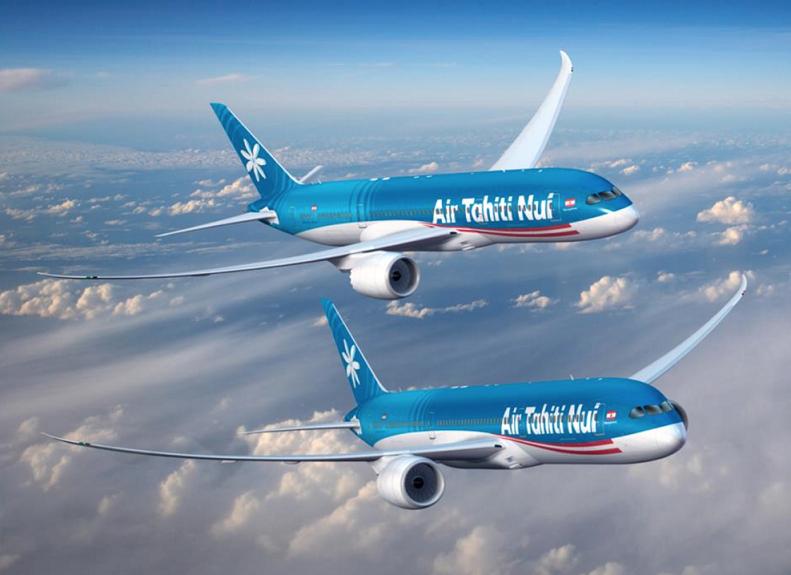 Air Tahiti Nui encarga a Boeing dos 787-9, valorados en 514,2 millones