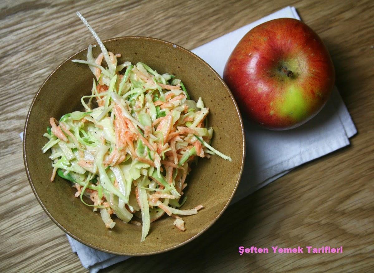lahana salatası nasıl yapılır